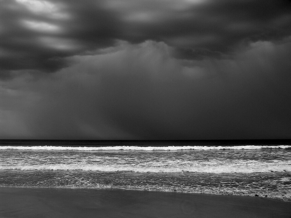Storm Over Jarvis Bay NSW by Scott Hutchins