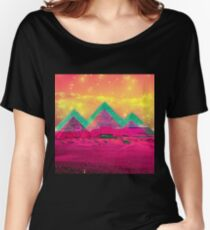 Trippy Pyramids Women's Relaxed Fit T-Shirt