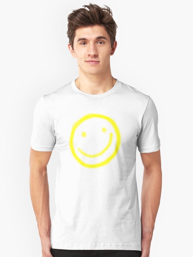 Smiley Face Unisex T-Shirt Front