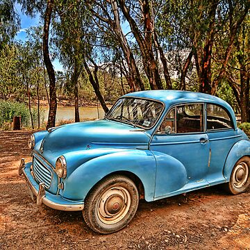 Morris Minor by rosscojj