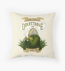 Iroh's Delectable Tea Throw Pillow