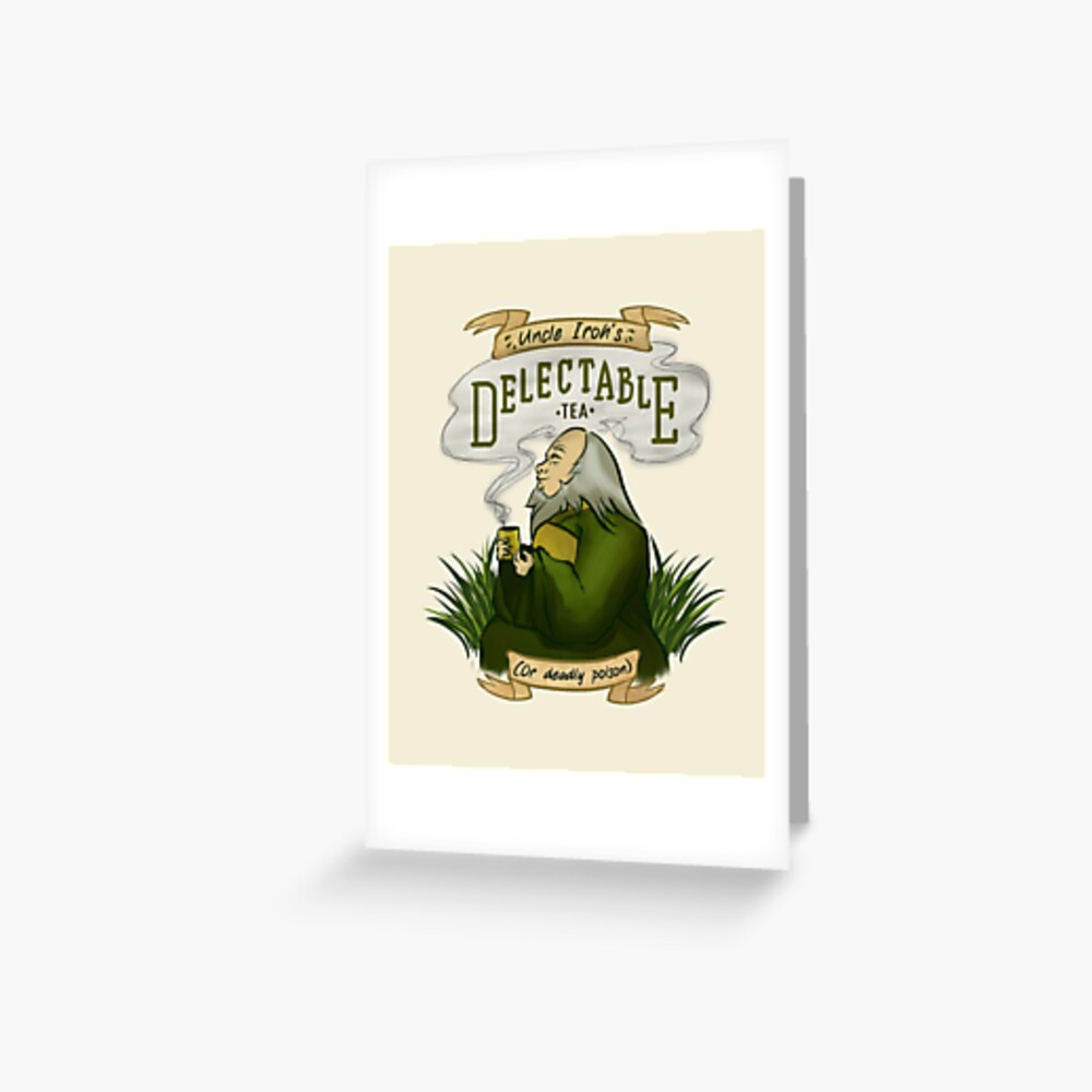 Iroh's Delectable Tea Greeting Card