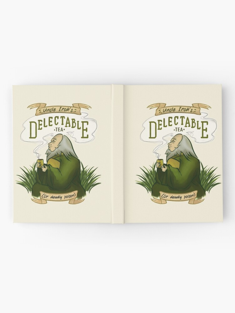 Alternate view of Iroh's Delectable Tea Hardcover Journal