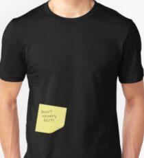 Insert Memory Here Unisex T-Shirt