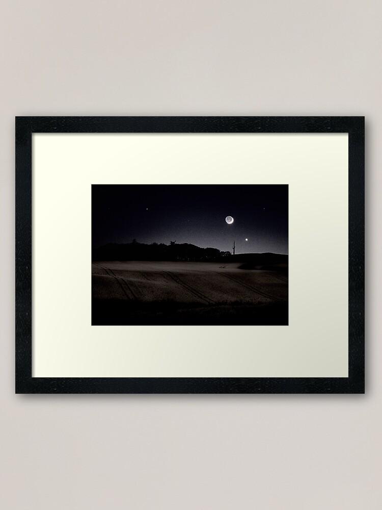 Alternate view of Twilight Framed Art Print