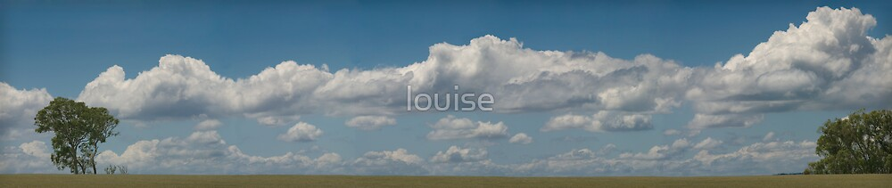 clouds on the horizon by louise