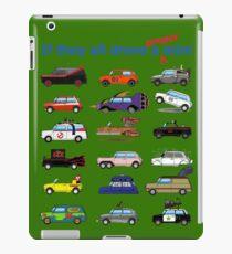 Film and TV cars as Mini -Green iPad Case/Skin