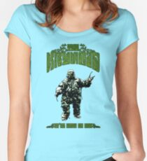 Seeds of Doom Plant Monster Women's Fitted Scoop T-Shirt