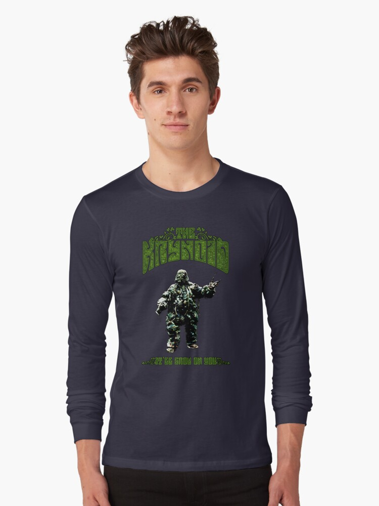 Seeds of Doom Plant Monster Long Sleeve T-Shirt Front