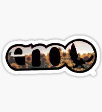 Sunflower eno  Sticker