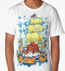 pirate ship  Long T-Shirt