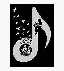 Musical note - Hang Drum Photographic Print