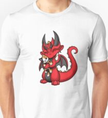 Dragon with Kitty Plushie Unisex T-Shirt