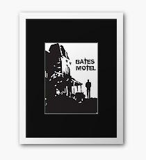 Bates Motel - OPEN Framed Print