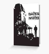 Bates Motel - OPEN Greeting Card