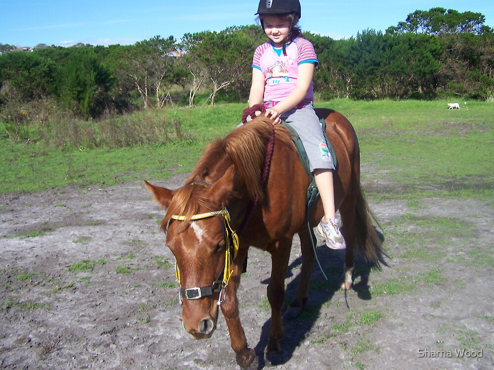 First ride together by Sharna Wood