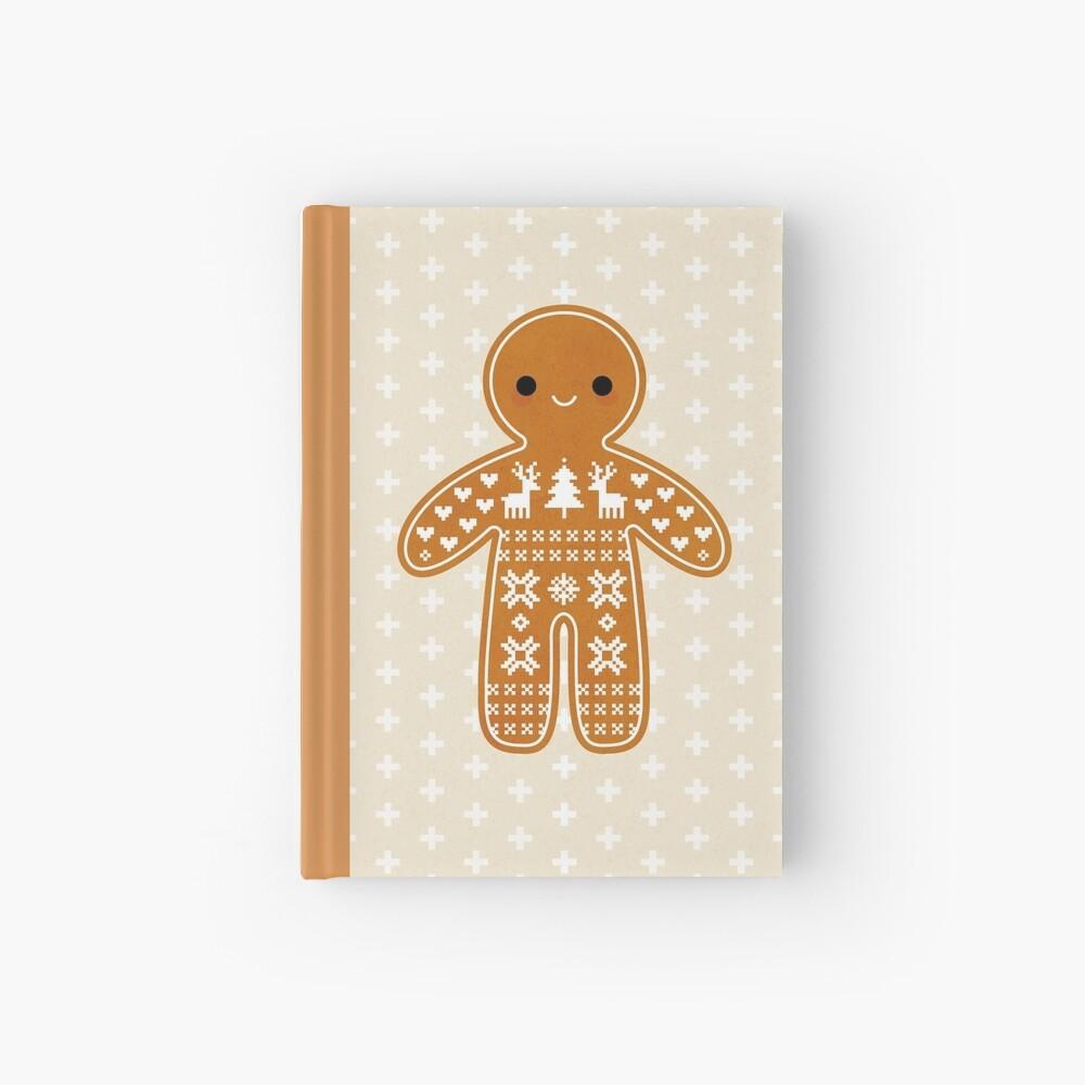 Strickjacke-Muster-Lebkuchen-Plätzchen Notizbuch
