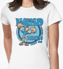 BACKYARD BREWING CO Womens Fitted T-Shirt