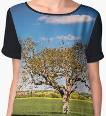 The Tree Chiffon Top