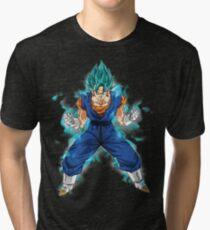 vegetto super saiyan blue Tri-blend T-Shirt