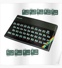 ZX Spectrum - 1st love Poster