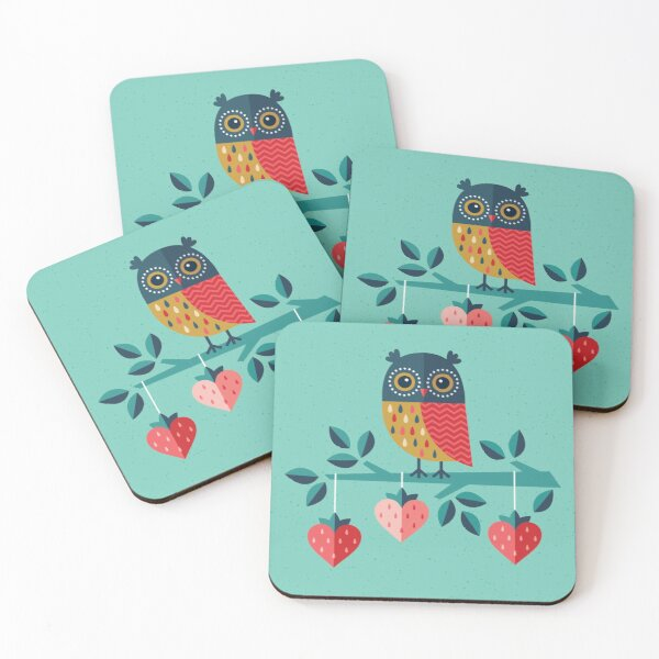 Owl Always Love You Coasters (Set of 4)