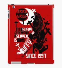 Slayer (2) iPad Case/Skin