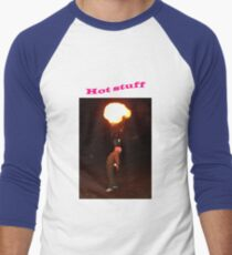 Hot Stuff (#2) Men's Baseball ¾ T-Shirt