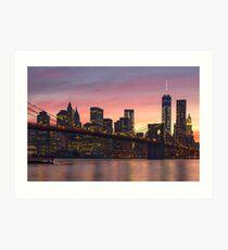 NEW YORK CITY 34 Art Print