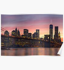 NEW YORK CITY 34 Poster