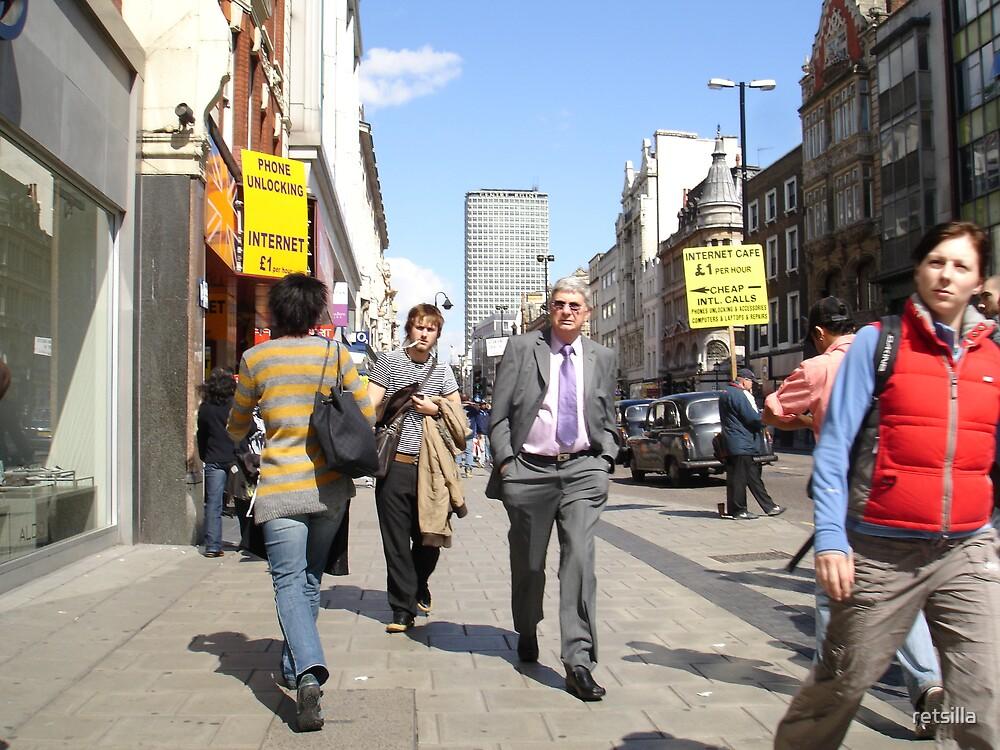 Oxford Street by retsilla