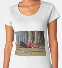 Lunch Break Women's Premium T-Shirt