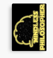 Mindless Philosopher (Star Wars) Canvas Print