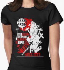 Slayer (4) Womens Fitted T-Shirt