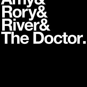 Amy & Rory & River & The Doctor. by DeadMonkeyShop