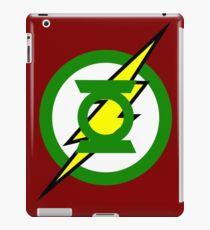 The Flash and Green Lantern iPad Case/Skin