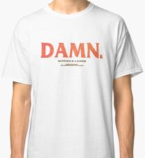 kendrick lamar damn kung fu kenny coachella Classic T-Shirt