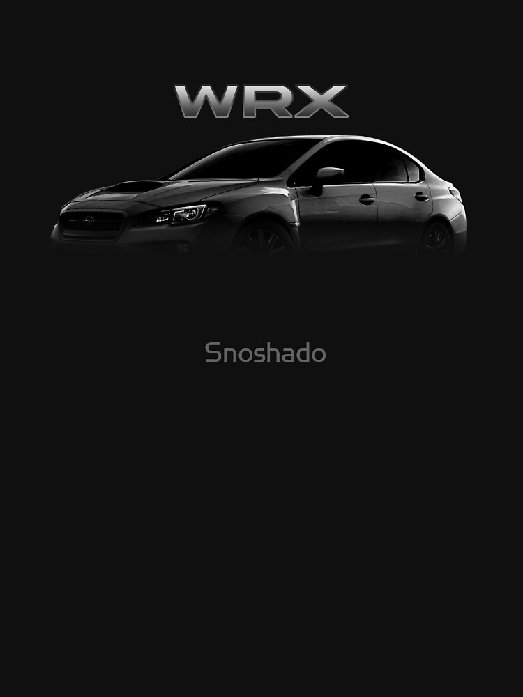 Wrx Silhouette Tee Womens Fitted V Neck T Shirt By Snoshado
