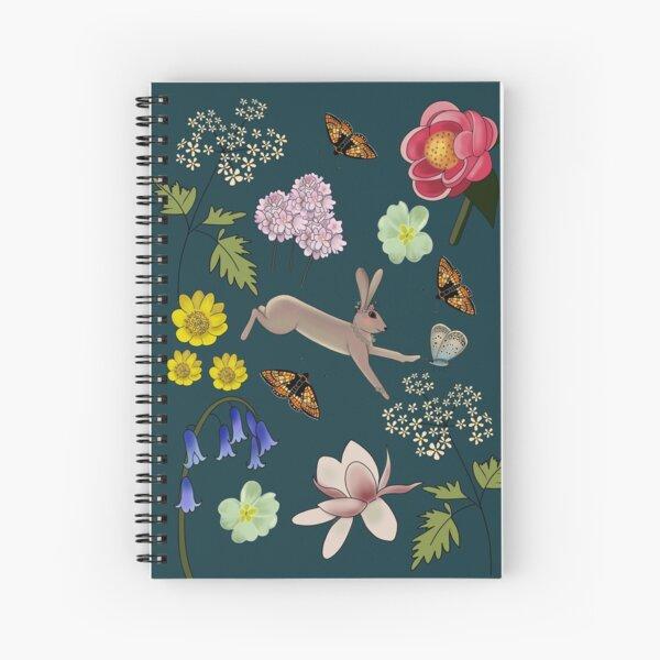 Spring hare Spiral Notebook