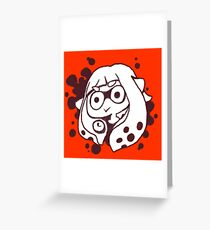 *Happy Squid Noises* Greeting Card