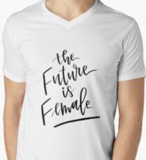The Future is Female Men's V-Neck T-Shirt