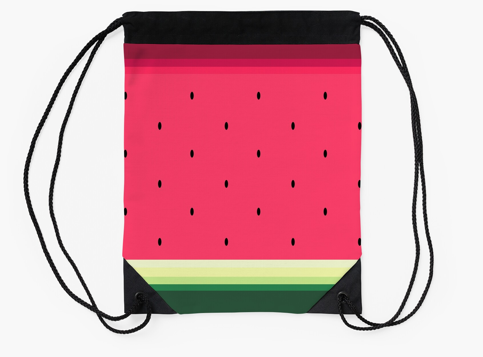 Watermelon // Graphic Fruit Pattern