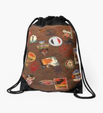 globetrotter Drawstring Bag