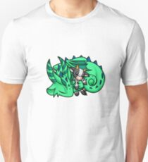 Dragon with Cow Plushie Unisex T-Shirt