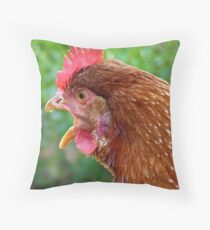 I Laid an EGG! - Red Hen - NZ - Southland Throw Pillow