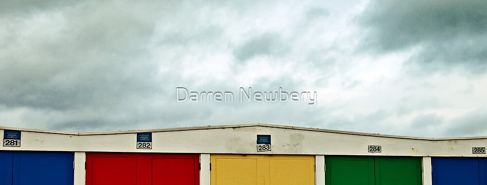 Beach Huts by Darren Newbery