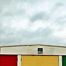 Beach Huts by Darren Newbery
