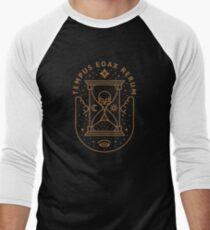 Tempus Edax Rerum Men's Baseball ¾ T-Shirt