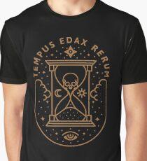 Tempus Edax Rerum Graphic T-Shirt