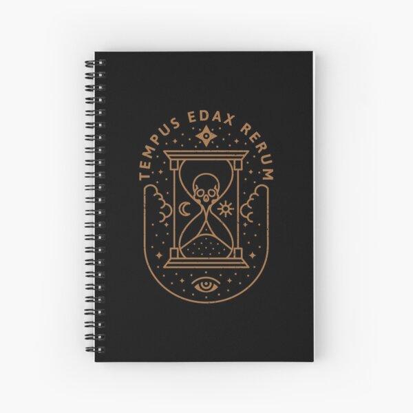 Tempus Edax Rerum Spiral Notebook